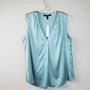 White House Black Market NWT Seafoam Green Top